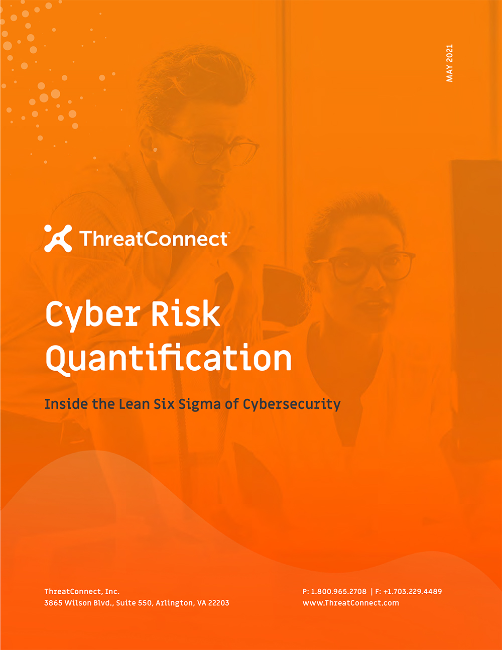 Threatconnect cyber risk quantification eBook